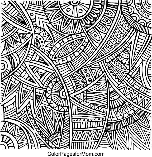 Doodles 44 Coloring Page Con Imagenes Libro De Colores Dibujos Abstractos Mandalas Para Colorear