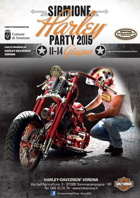 Sirmione Harley Party 2015 http://www.panesalamina.com/2015/37359-sirmione-harley-party-2015.html