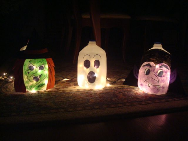 more milk jug crafts Kids crafts Pinterest Milk jug crafts - halloween milk jug decorations