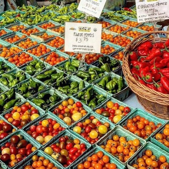 Head House Farmers Market Philadelphia. we are so lucky to have a wonderful market. tomatoes are just started to come in. do you have a farmers market in your neighborhood? ⠀ *⠀ *⠀ *⠀ *⠀ #madeinturkey #madeinvietnam #madeinbelgium #fairtrade #handmade #crochet #buffalohornjewelry #horns #upcycled #woodjewelry #silver-plated #uniquejewelry #womenempowered
