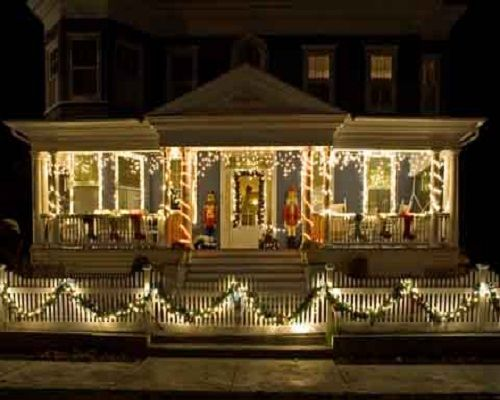 houses decorated outside for christmas FAD Investment Group Adds