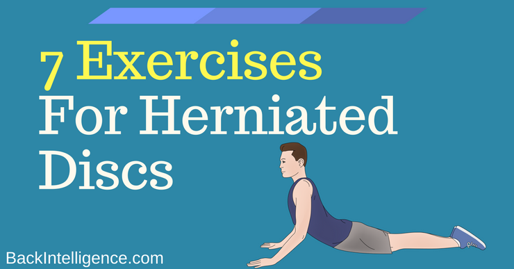 Easy Lumbar Herniated Disc Exercises and stretches to do at home. Also, get the scoop on the causes and symptoms of herniated discs in the low back.