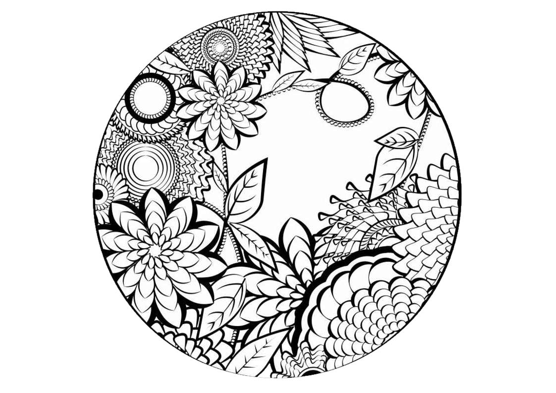 Disegni Da Colorare Grandi Gratis.Immagine Correlata Disegno Di Mandala Mandala Disegni Di Mandala Da Colorare