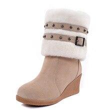 Wyprzedaz Buty Damskie Zimowe Kupuj W Niskich Cenach Buty Damskie Zimowe Zestawy Na Aliexpress Boots Winter Boots Women Boots For Short Women