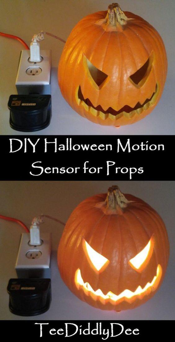DIY Halloween Motion Sensor for Props Creepy halloween decorations - my halloween decorations