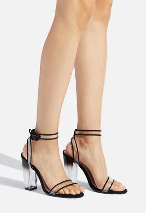 Layla Ombre Block Heel   Ankle strap