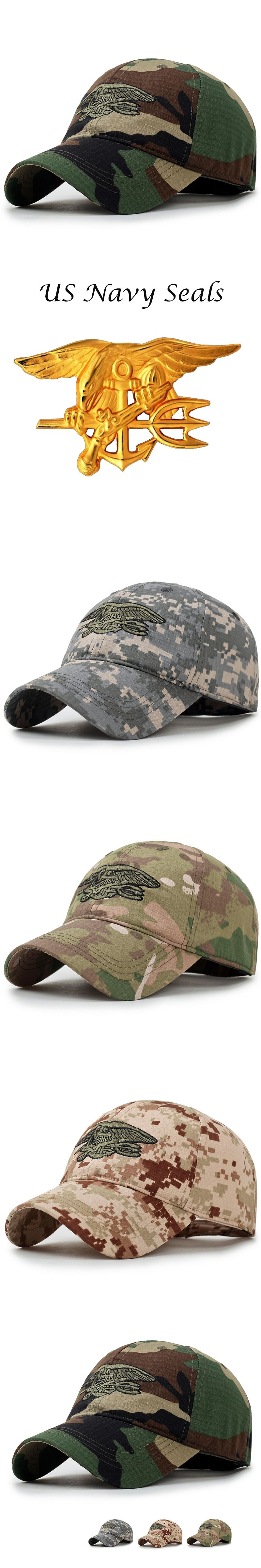 dd57d18a Baseball Cap Snapback Caps Brand Men Navy Seals Tactical Cap Embroidered  Camouflage Hat Casual Gorras Adjustable