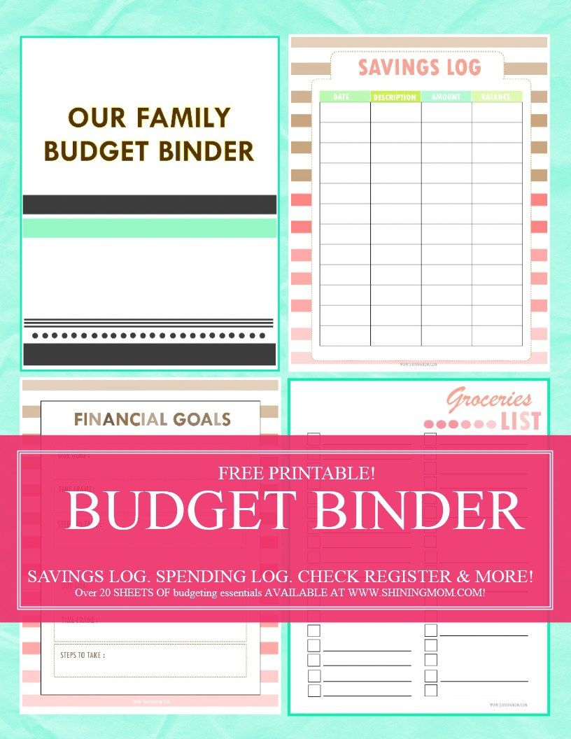 save money use our free budget binder budgeting pinterest