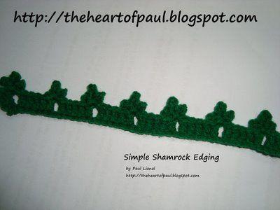 St Patricks Crochet Patterns Crochet Pattern Central Free St