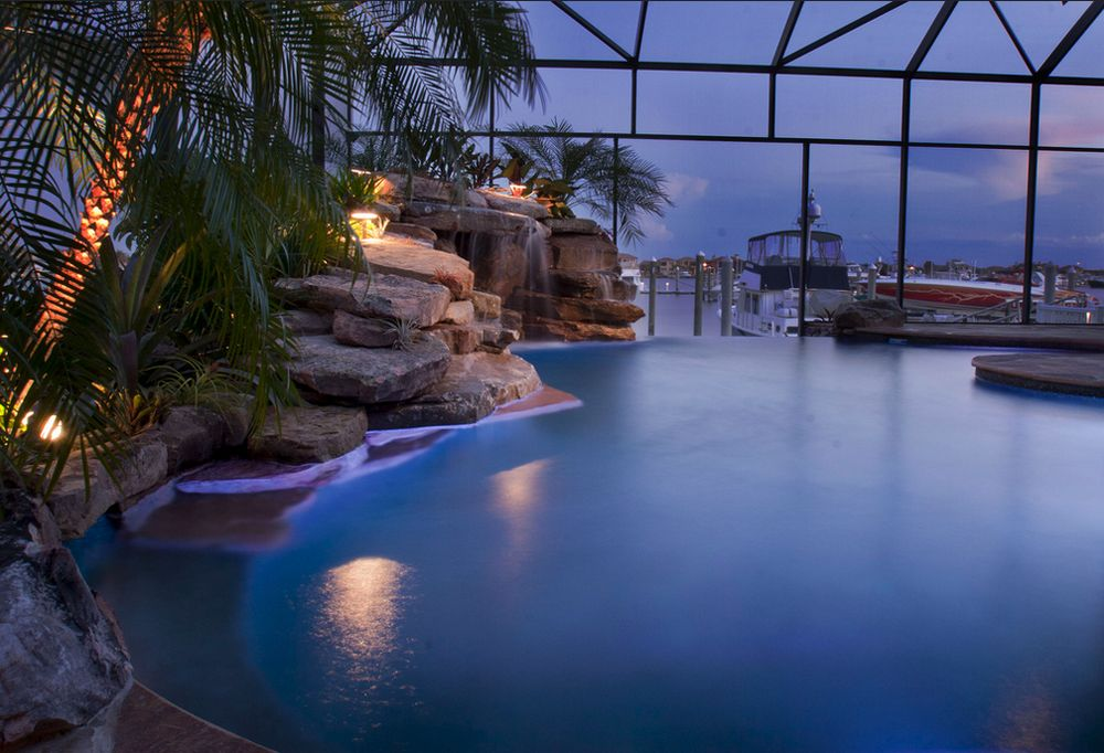 Insane pools off the deep end incredible pools lagoon for Pool design tv show