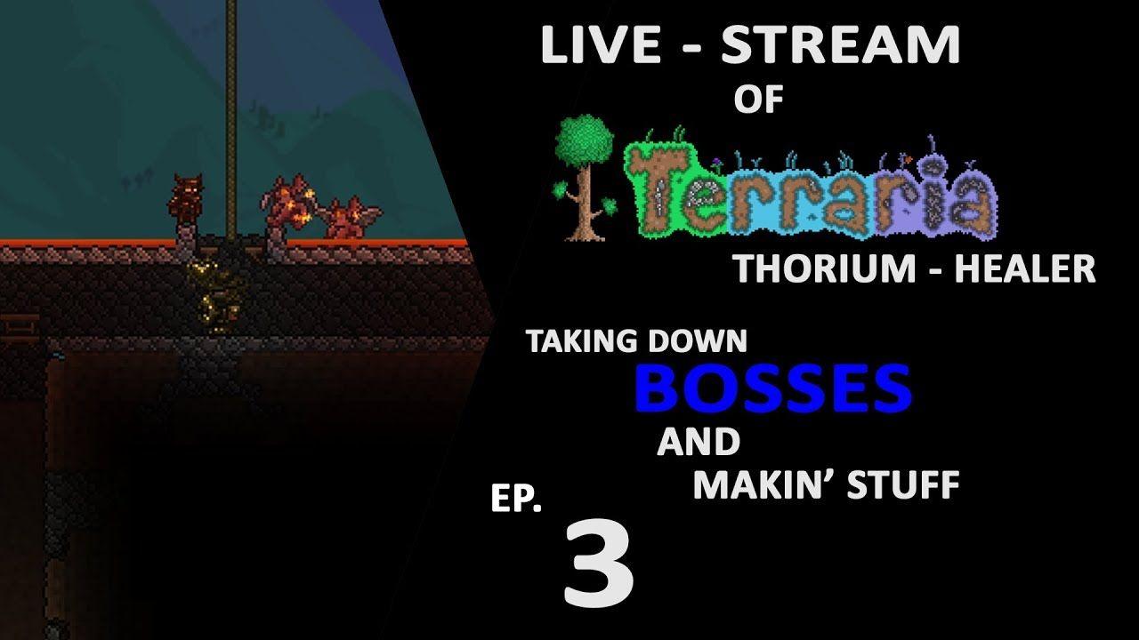 Terraria Modded Killin Bosses Makin Stuff Livestream