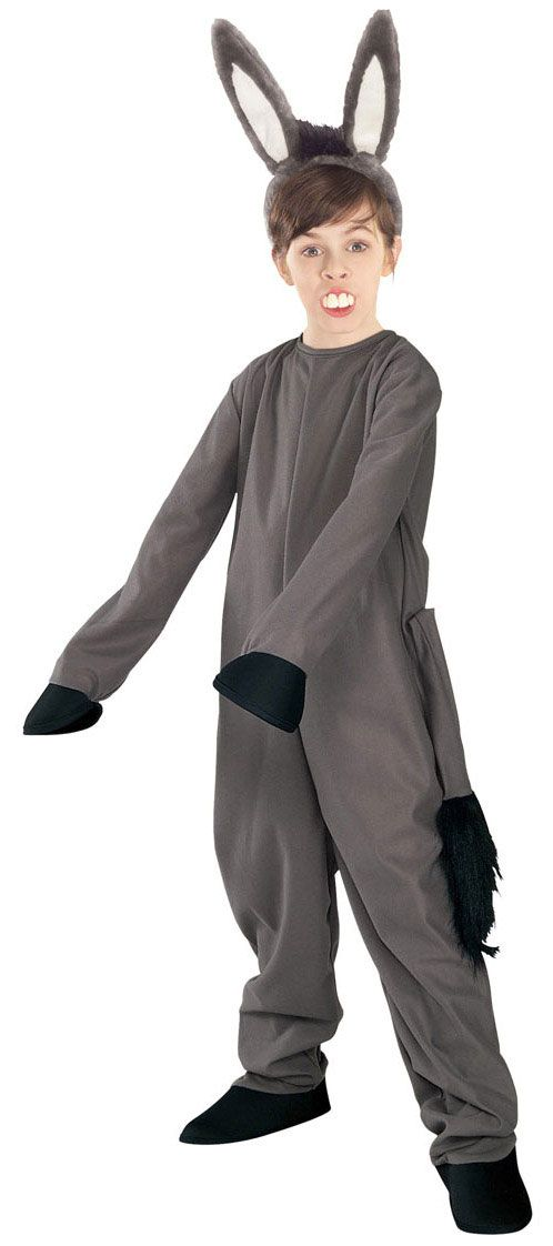 d10783acd Shrek Donkey Kids Costume - Shrek Costumes | Christmas Animals ...