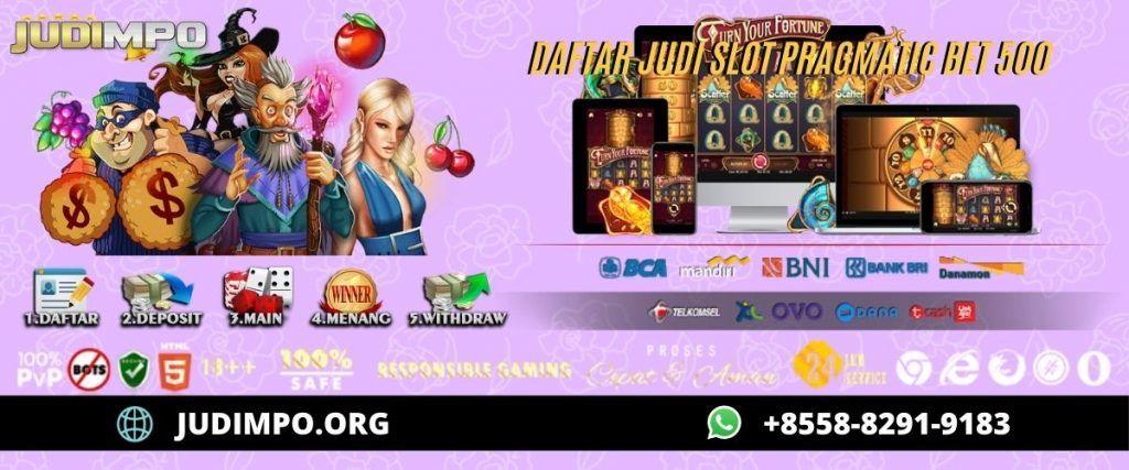 Pin Di Daftar Situs Judi Slot Online Terpercaya
