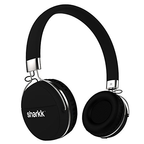 Introducing Sharkk Stereo Bluetooth Headphones Multipoint Connected Wireless Headphones 12 Hour Play Time Blue Headphones Wireless Headset Bluetooth Headphones