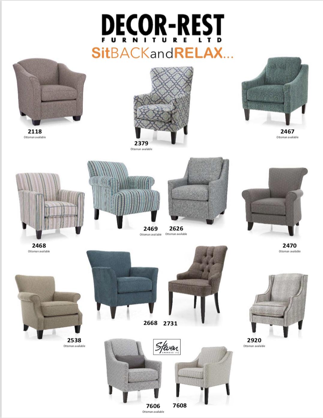 Custom Occasional Chairs, Made in Canada 🇨🇦  Custom chair