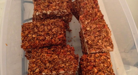 Granola bars made of used beer grain reduce waste, actually sound kind of tasty