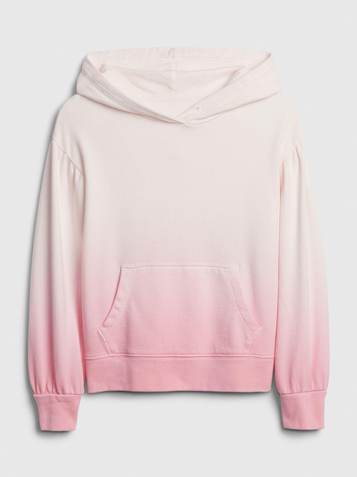 Gap Kids Ombre Hoodie T Shirt Pink Dip Dye Tween Outfits Hoodies Tie Dye Fashion [ 2000 x 1500 Pixel ]