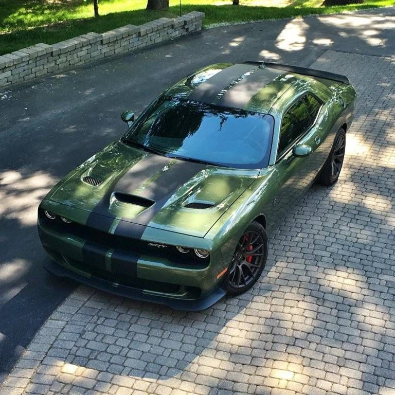 2018 dodge green. modren 2018 this is what an f8 green 2018 dodge srt challenger hellcat looks like on dodge green