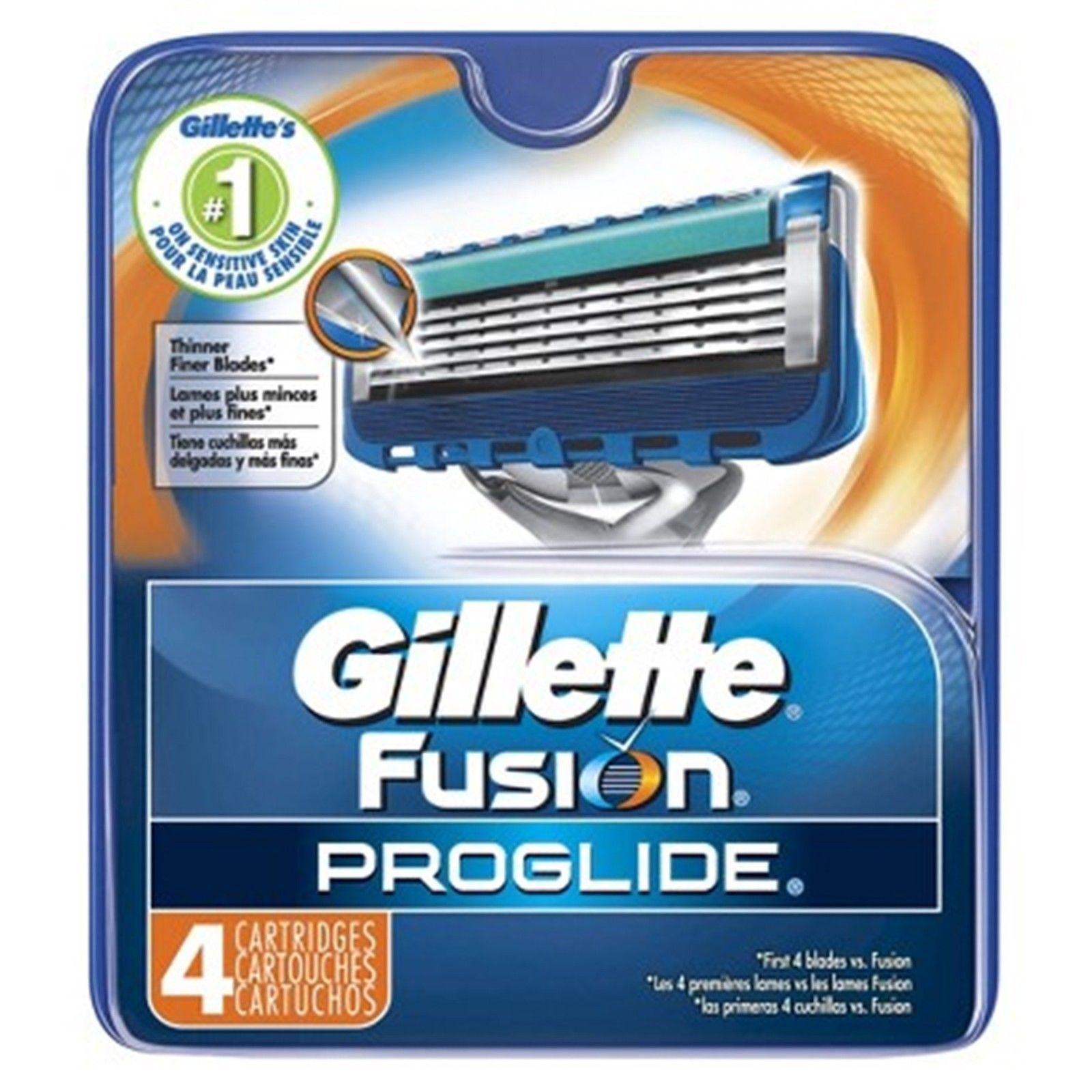 Gillette Fusion Proglide Razor Blades Brand New