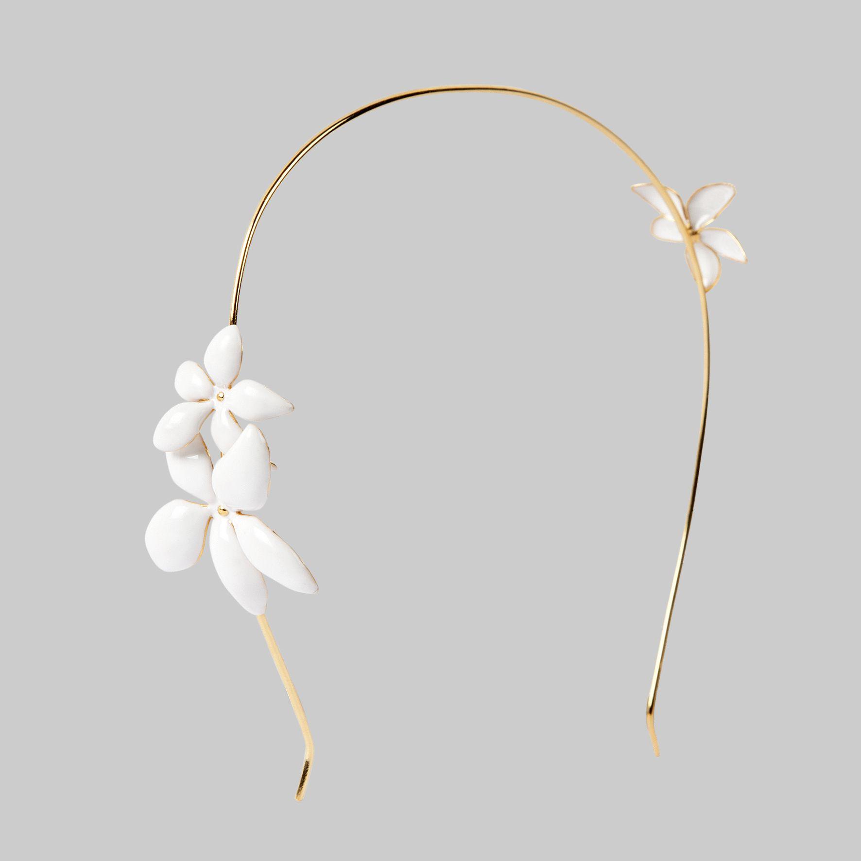 CH Carolina Herrera  Falling Jasmine  headband   Accesorios ... 828d76fca4