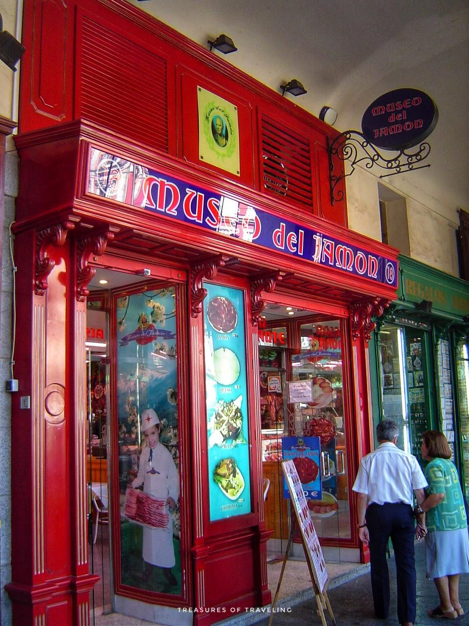 Museo Del Jamon Is An Institution In Madrid With All Types Of Hams Cheeses And Tapas With Sangria Wine Beer Or A Beverage Of Types Of Ham Sangria Sangria Wine