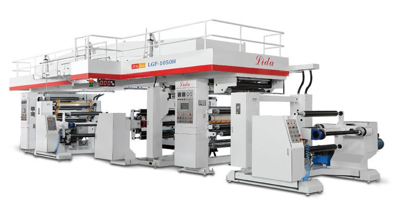 The Dry Laminating Machine Is A Dry Compounding Process Which Is To Fully Dry The Solvent In The Glue Solution By Heating And Exh Manufacturing Lida Machinery
