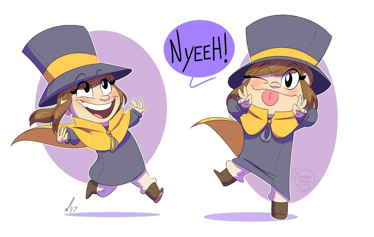 A Hat In Time Hat Kid A Hat In Time A Hat In Time Hat Kid Hat In Time