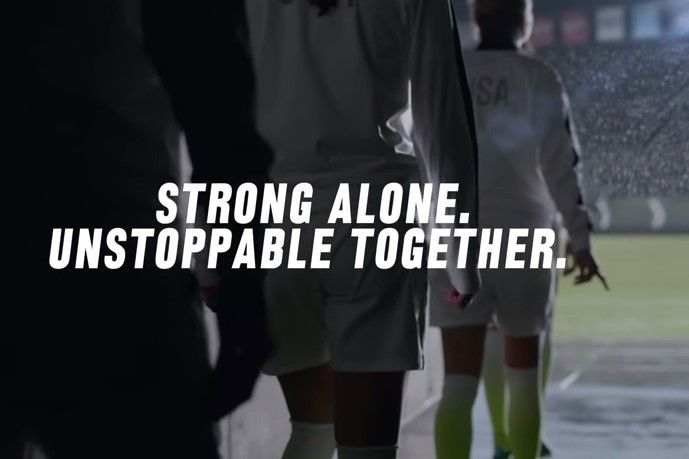Nike Soccer Releases Hype Video for Team USA in Women's World Cup. Sport  QuotesNike ...