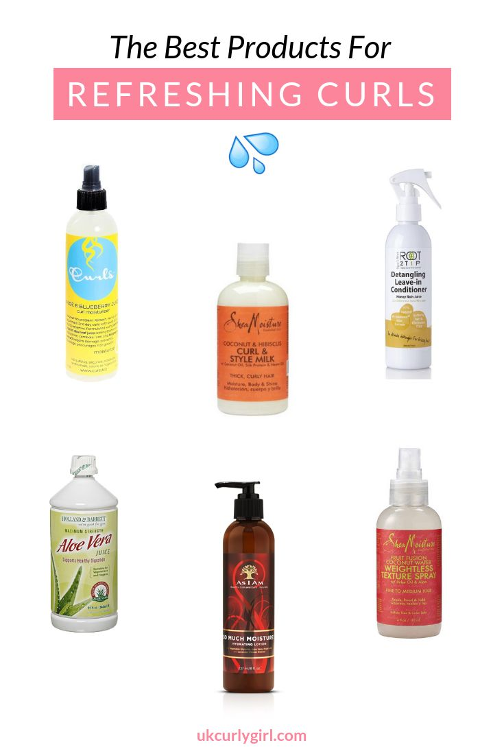 Photo of Best Products For Refreshing Curly Hair!