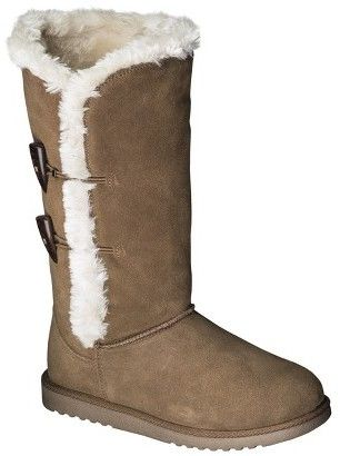 0e638a6576c Dynasty Women's Kallima Suede Shearling Boot at #Target. These ...