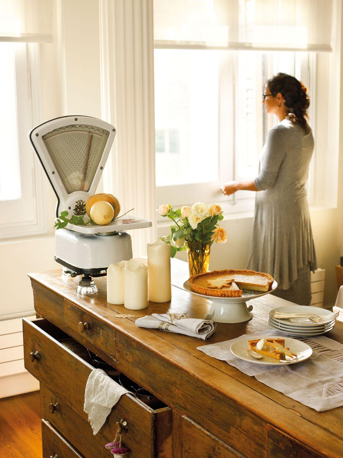 Muebles Cocina Antiguos Muebles Antiguos En La Cocina Moderna  # Muebles Viejos Gratis