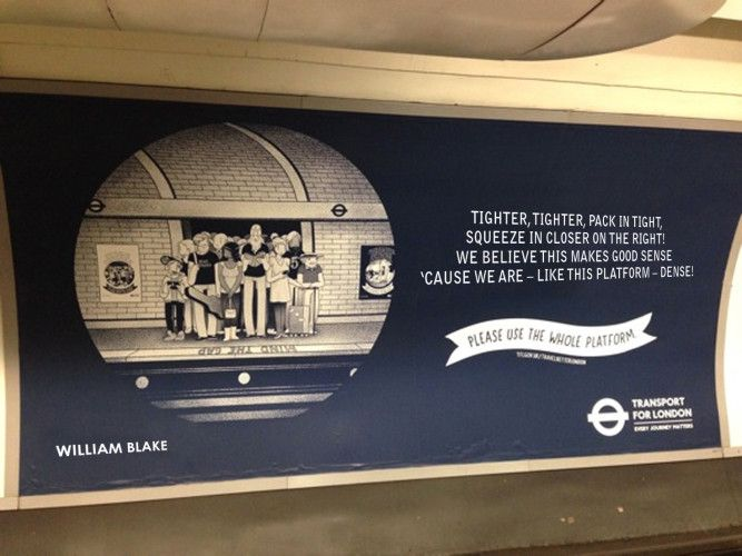 Tube Etiquette Posters, In The Words Of The Great Poets | Londonist