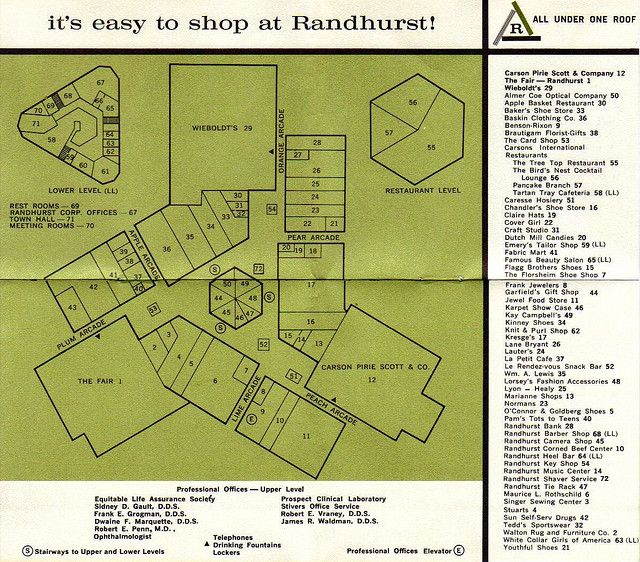 Randhurst Map Memories Map Cool Stuff