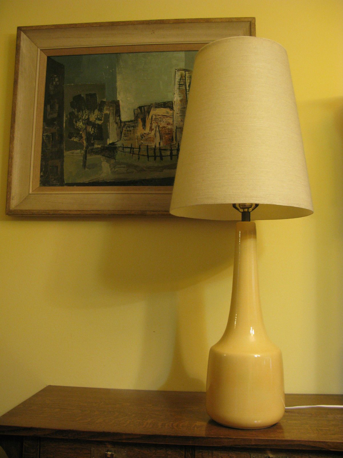 Pair Of Mid Century Modern Lamps Bitossi Lotte Aldo Londi West Germany Ebay Mid Century Modern Lamps Table Lamp Modern Lamp