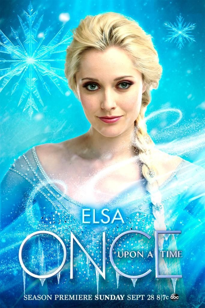 Elsa Ouat Disneyfrozen Frozen Onceuponatime Once Upon A Time