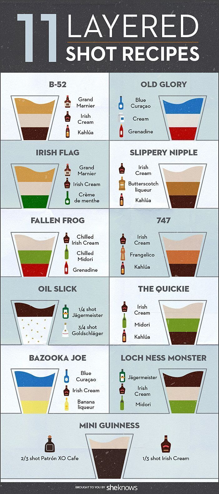 Impress your friends by pouring a badass layered shot like a boss ...