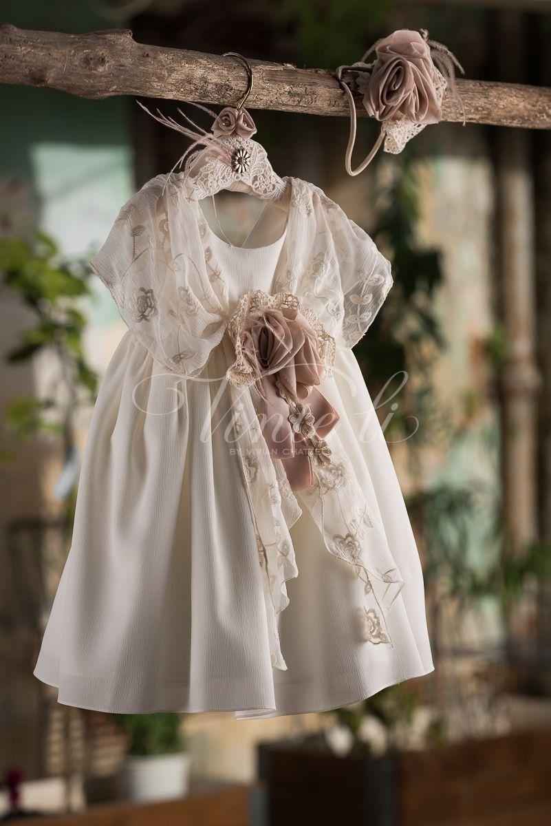 36b29096450 Μοναδικά χειροποίητα βαπτιστικά ρούχα για κορίτσια καλέστε 2105157506