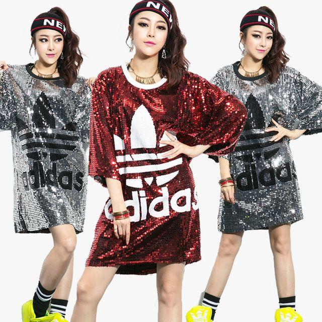 pas cher vente en magasin pas cher pour réduction Vêtements de danse costume hip - hop hiphop danse jazz ...