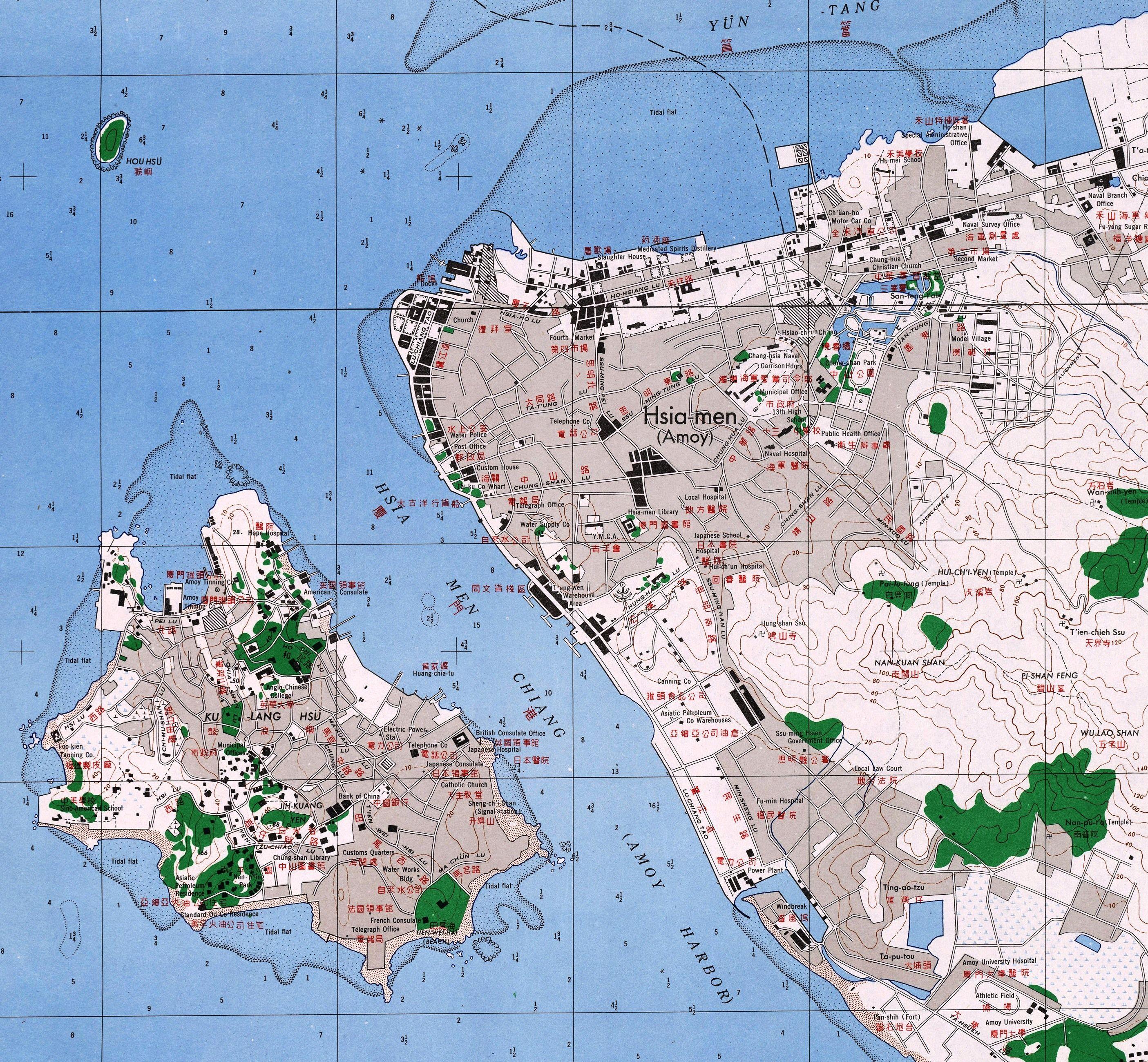 Naval war in china old map of kulangsu gulangyu and amoy xiamen naval war in china old map of kulangsu gulangyu and amoy xiamen gumiabroncs Gallery