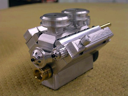 Smallest V8 Engine In The World Model Engines Engineering Car
