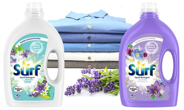 Up To 5 Bottles Of Surf 47 Wash Super Concentrated Liquid