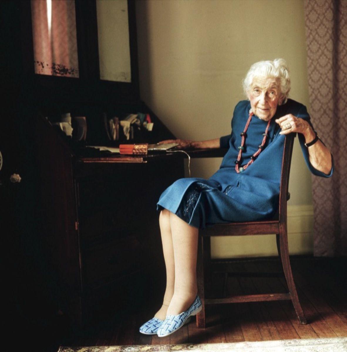 Christie at her home in Devon, in 1974. #scrittori