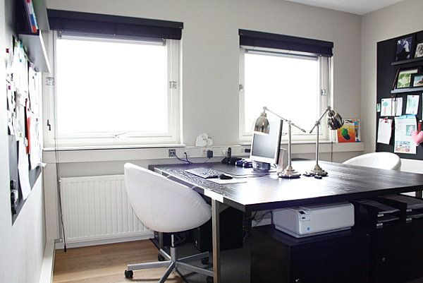 Organizing Your Home Office Modern Home Office Desk Home Office Design Modern Home Offices