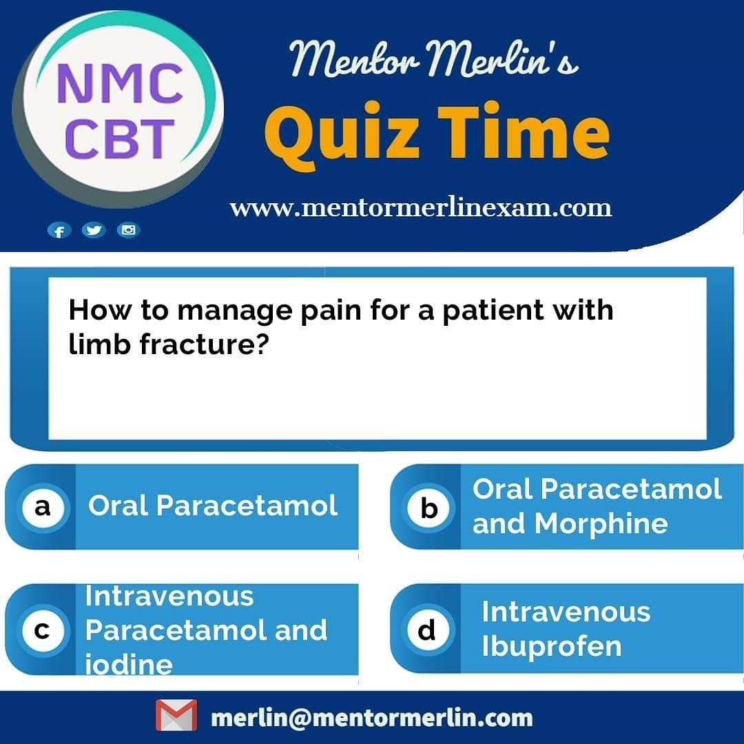 NMC CBT Quiz from Mentor Merlin For Free NMC CBT Mock Test