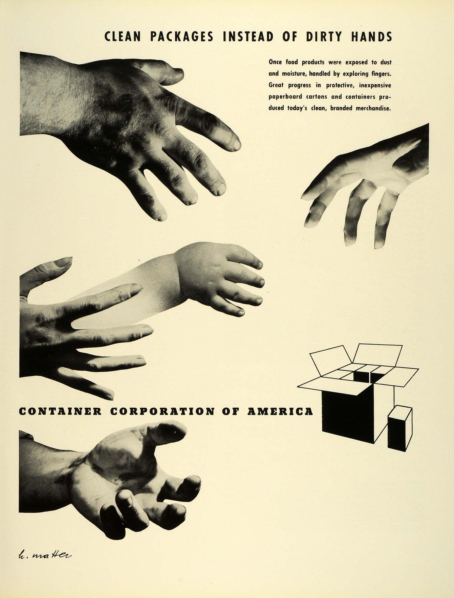 Container Corporation of America - Herbert Bayer & Herbert Matter