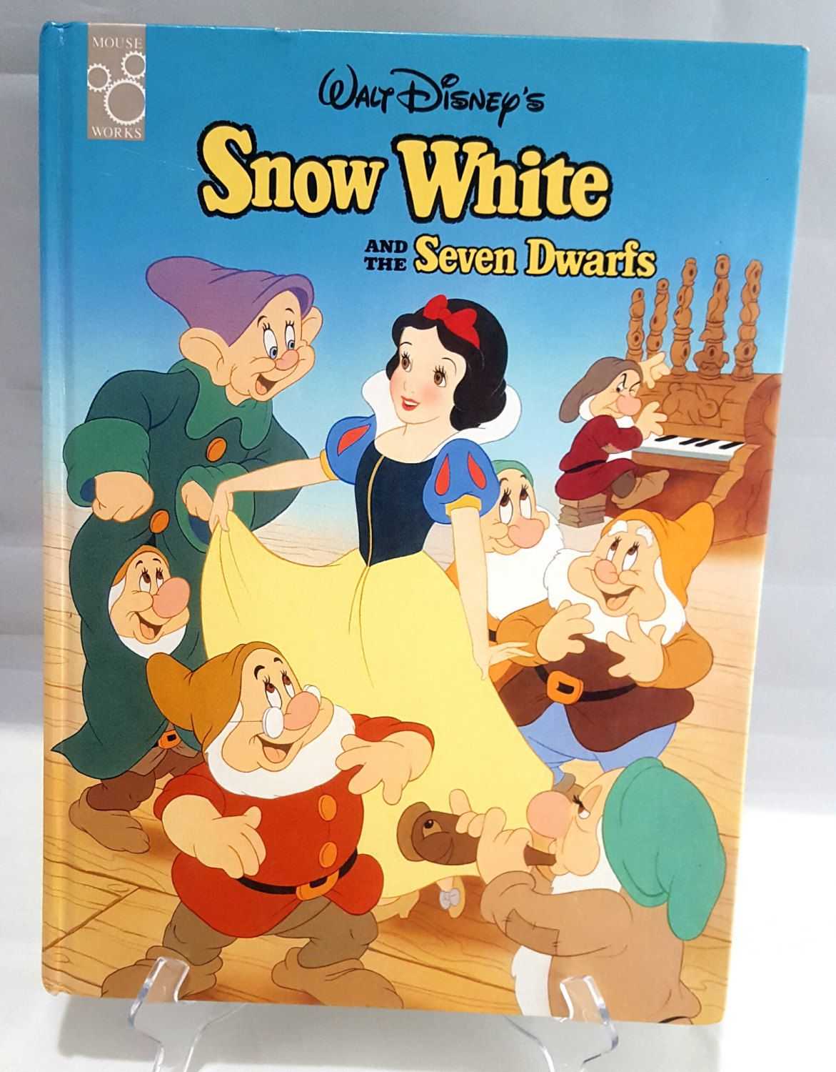 Snow white apron etsy - Walt Disney S Snow White And The Seven Dwarfs Classic Series Large Hardcover Storybook