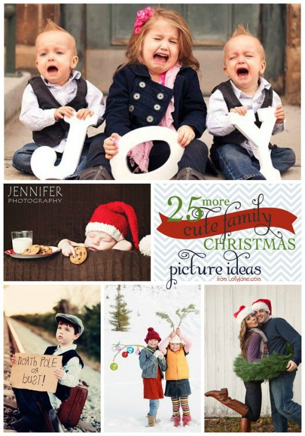 19 Simple Christmas Tutorials | Family christmas pictures ...