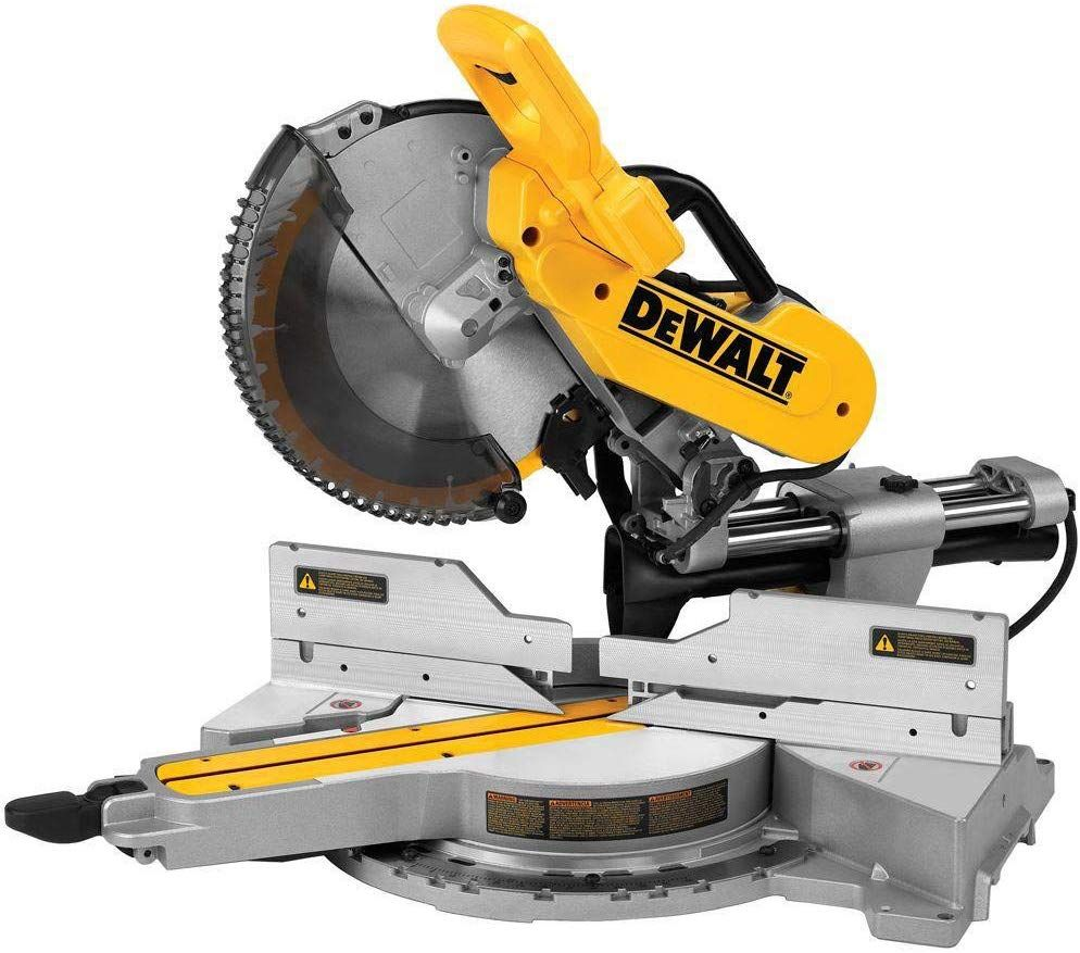 Dewalt Dws779r 15 Amp 12 In Sliding Compound Miter Saw Renewed With Images Sliding Compound Miter Saw Miter Saw Miter Saw Reviews