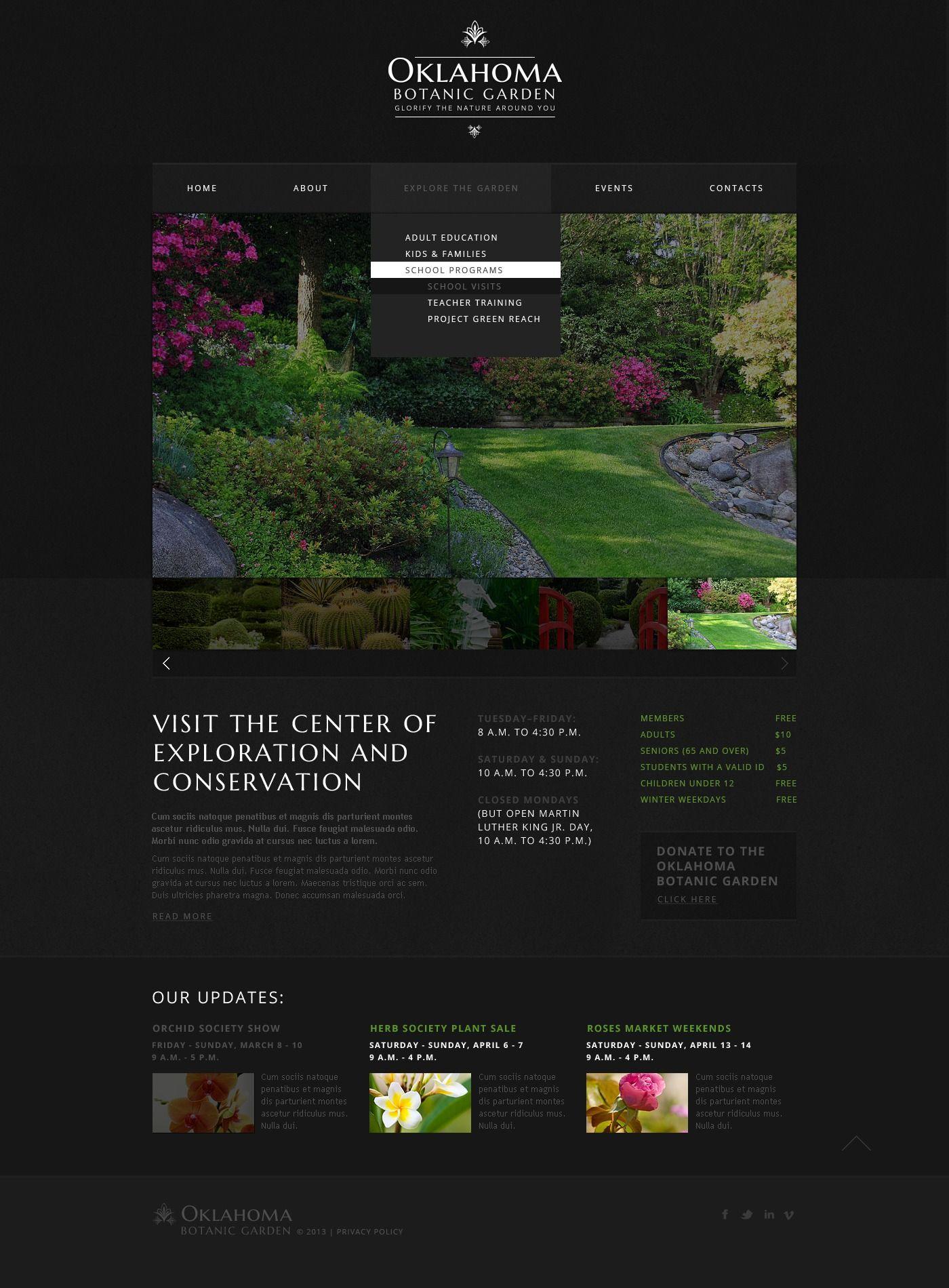 Garden Design Responsive Website Template 44195 Website Template Responsive Website Template Garden Design