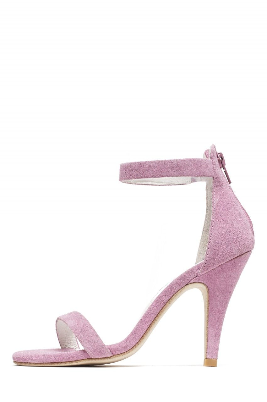 Lavender sandals shoes - Jeffrey Campbell Shoes Burke 2 Sandals In Lavender Suede